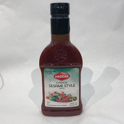 Haddar Chinese Sesame Sauce 15oz