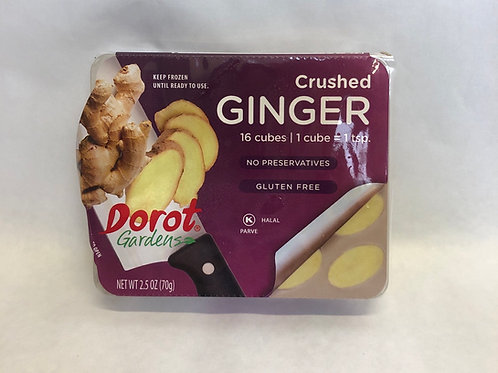 Dorot Gardens Crushed Ginger -16 Cubes- 2.5oz