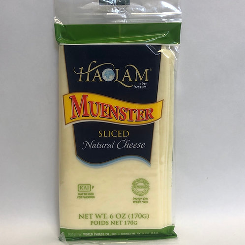 Haolam Muenster Sliced Cheese 6oz