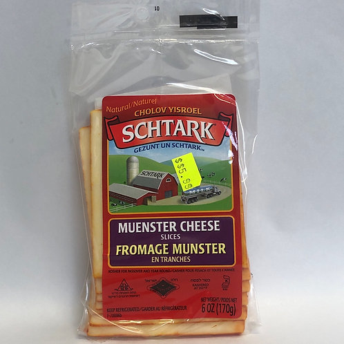 Schtark Muenster Cheese Slices 6oz