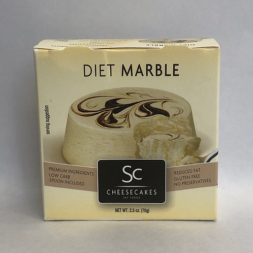 SC Cheescakes Diet Marble 2.5oz