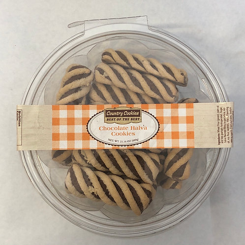 Country Cookies Chocolate Halva Cookies 21.16oz