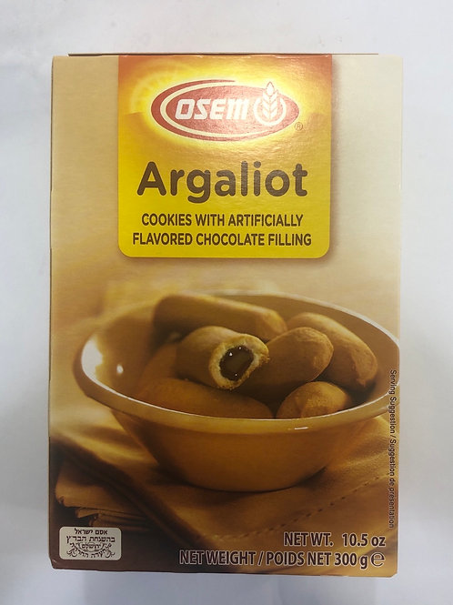 Osem Argaliot Cookies Filled With Chocolate 10.5oz