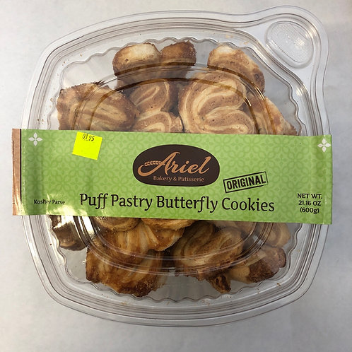 Ariel Puff Pastry Butterfly Cookies 21.16oz
