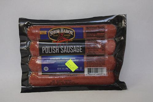 Shor Habor Beef Polish Sausage 12oz