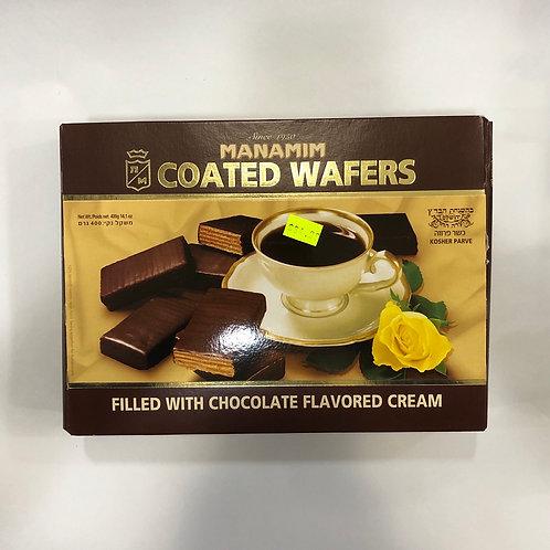 Manamim Chocolate Wafers 14.1oz