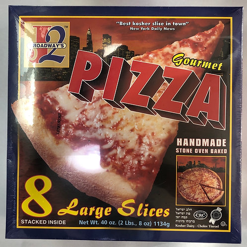 J2 Broadways Gourmet Pizza -8 Large Slices-