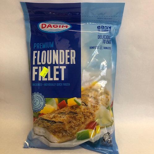 Dagim Premium Flounder Fillet 14oz