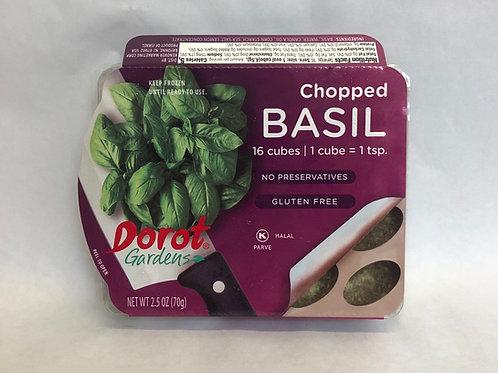Dorot Gardens Chopped Basil -16 Cubes- 2.5oz