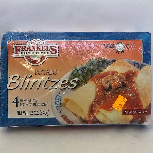 Frankel's Potato Blintzes -4 pcs- 12oz