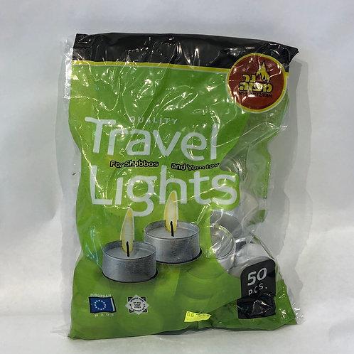 Ner Mitzvah Travel Lights -50 pcs-
