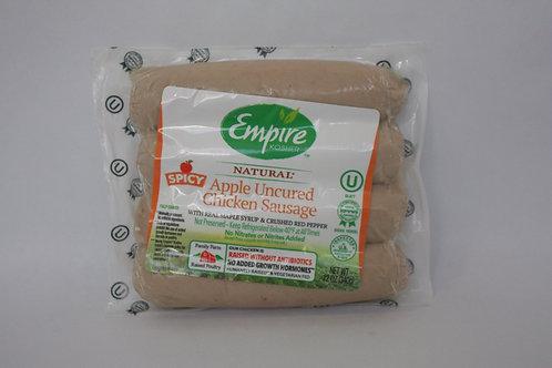 Empire Apple Uncured Chicken Sausage 12oz