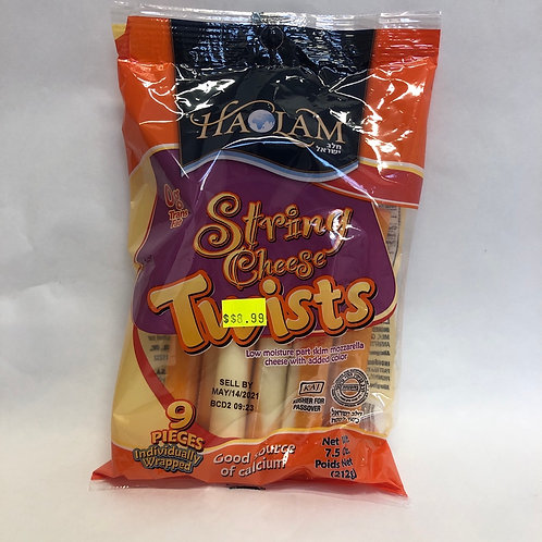 Haolam String Cheese Twists - 9 Pcs - 7.5oz