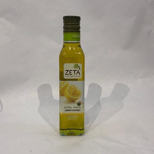 Zeta Extra Virgin Oil Lemon Flavor 8.5oz