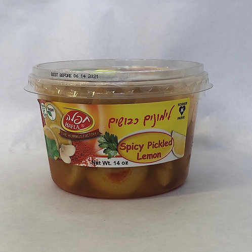 Hafla Spicy Pickled Lemon 14oz