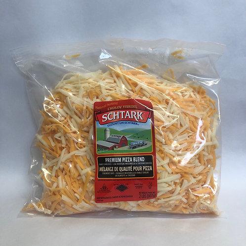 Schtark Premium Pizza Blend - Mozzarella & Cheese - 2LB
