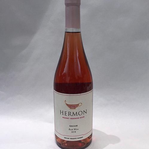 Hermon Rosé 2018 13.5% Alc 750ML