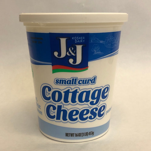 J&J Small Curd Cottage Cheese 16oz