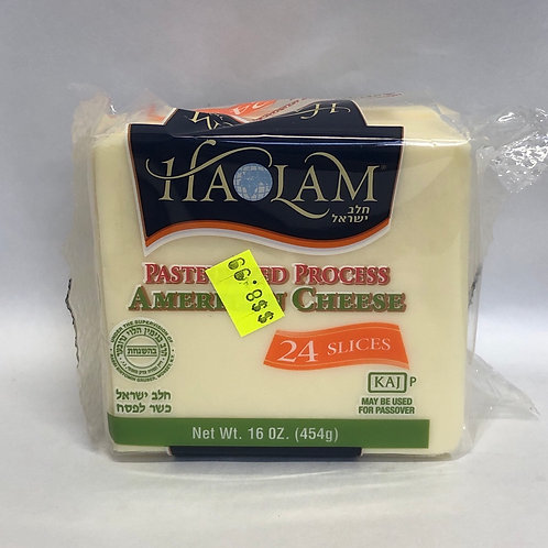 Haolam American Pasteurized Process Cheese -24 Slices- 16oz