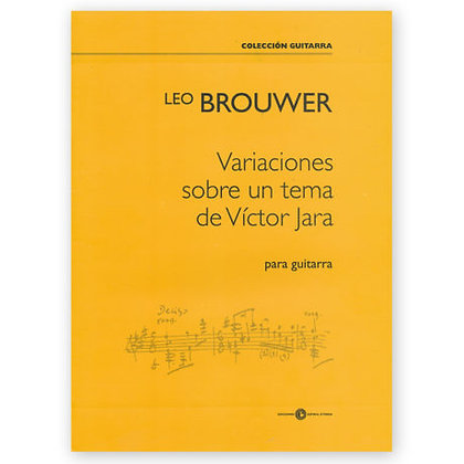 Variaciones sobre un tema de Víctor Jara