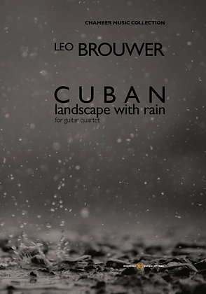 Cuban Landscape with rain