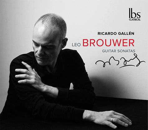 CD Leo Brouwer Guitar Sonatas
