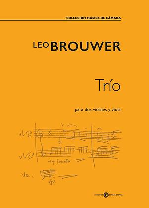 Trio para dos violines y viola