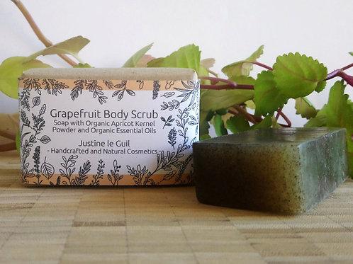 Grapefruit Body Scrub made in Ireland with organic essential oils