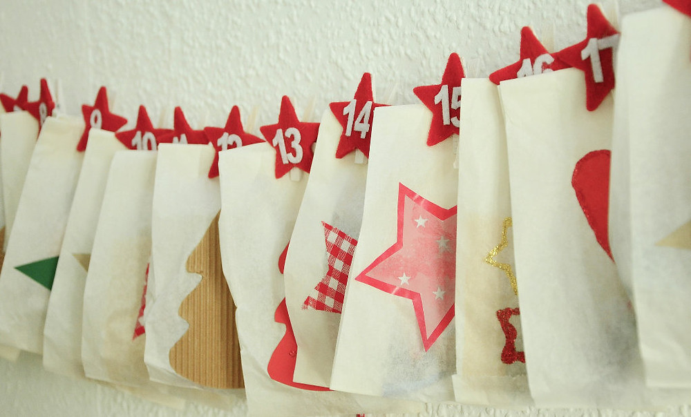 DIY advent calendar Christmas