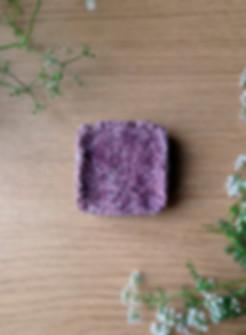 handmade Lavender shampoo bar