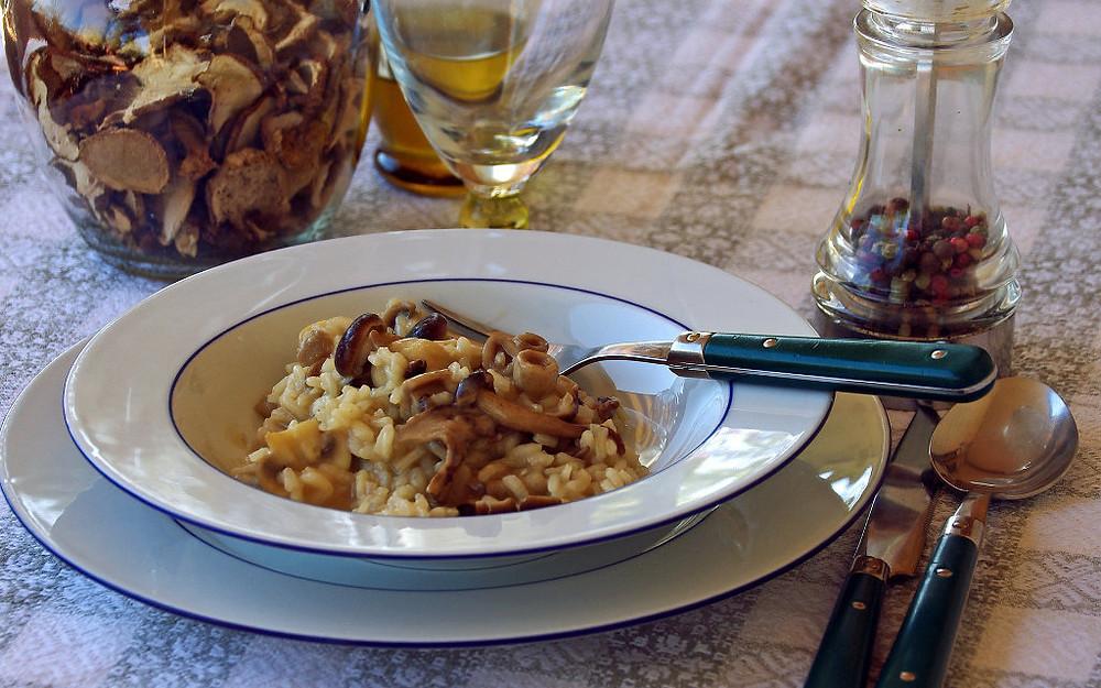 vegetarian risotto recipe