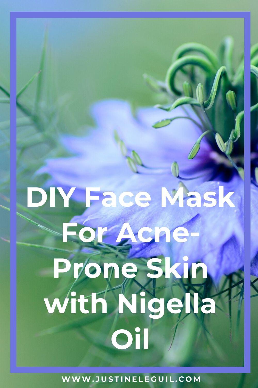 vegan natural acne face skincare recipe pinterest