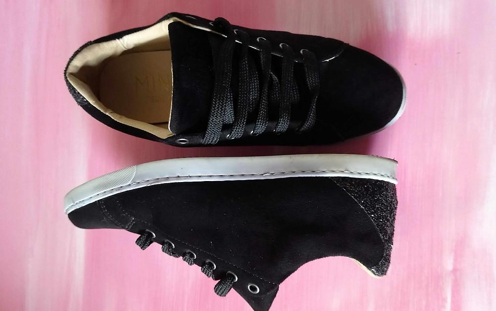 vegan black shoes - Minuit Sur Terre