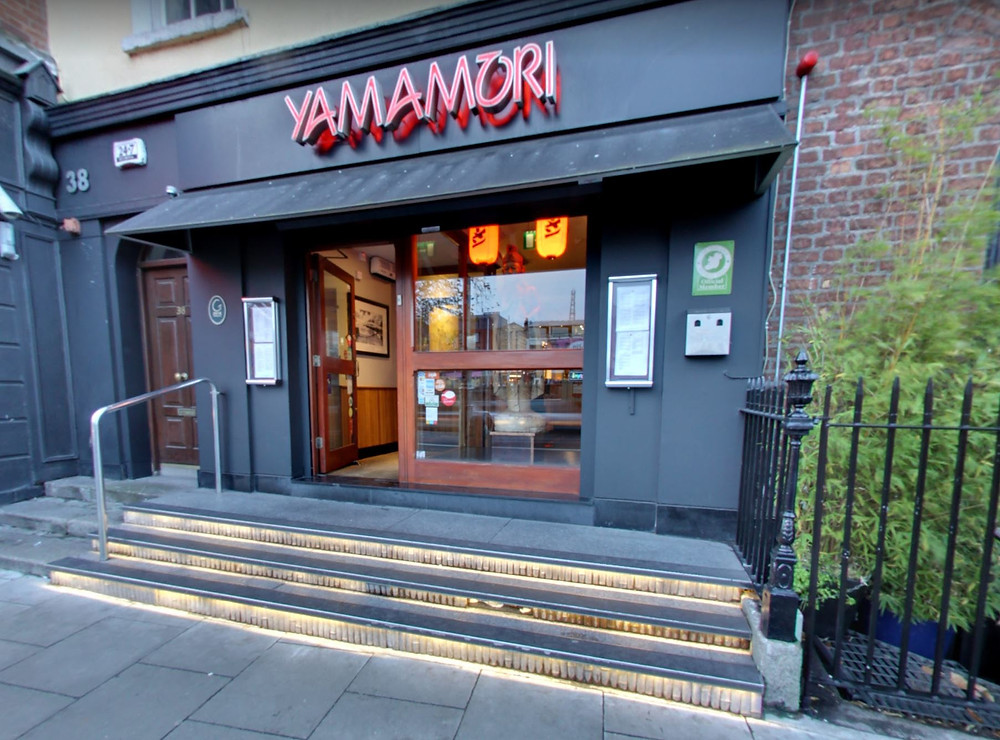 Yamamori Japanese Restaurant Dublin Ireland