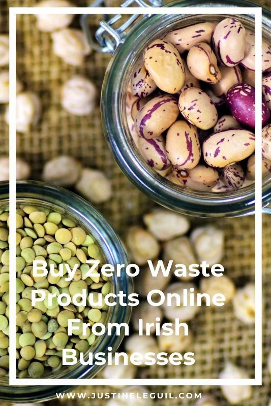 Pinterest zero waste irish business
