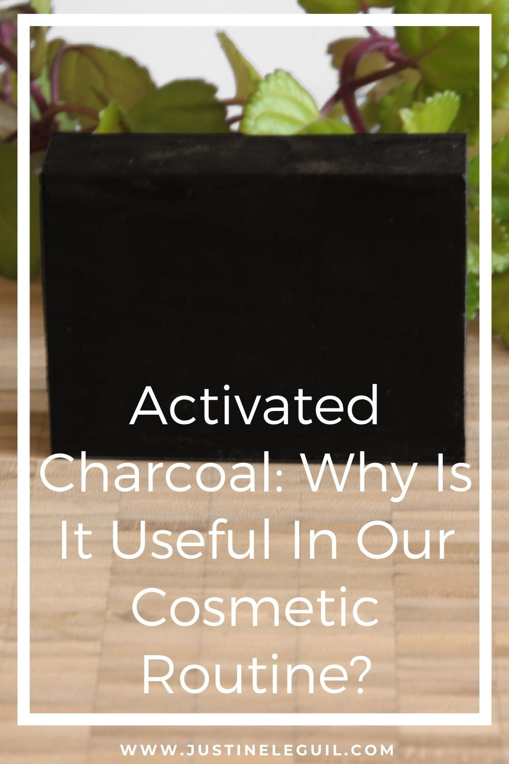activated charcoal -blog post for pinterest