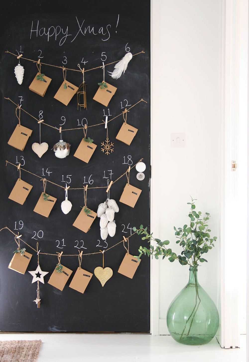 Apartment Apothecary DIY Advent Calendar