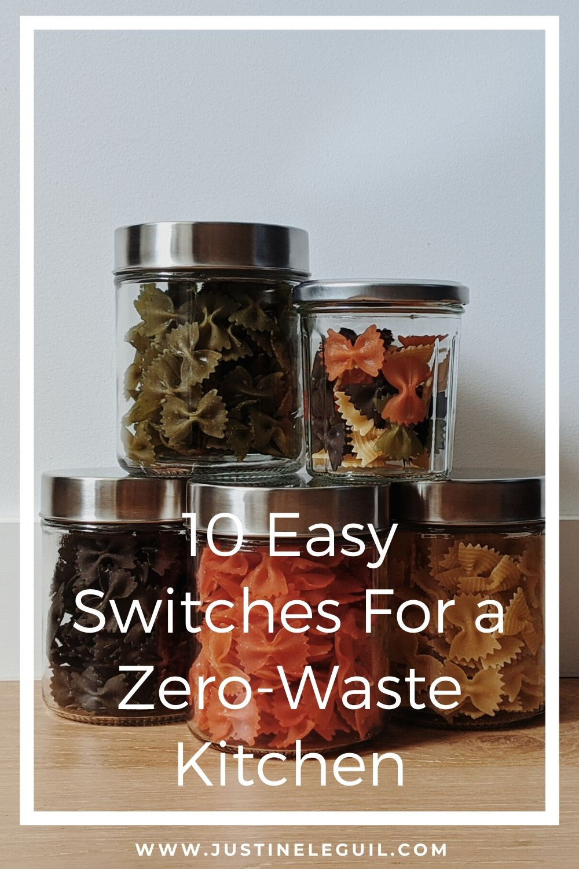 minimal plastic-free kitchen