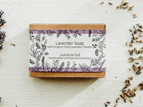 Body Lavender Soap handmade in Ireland