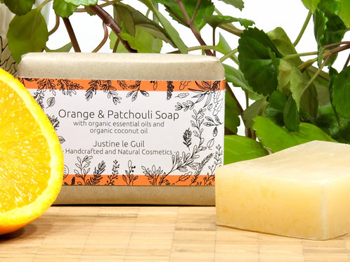 Vegan and Cruelty-free Dry Skin Soap bar with organic coconut oil for body and face