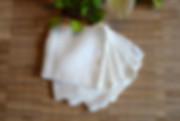 handmade bamboo makeup remover pads