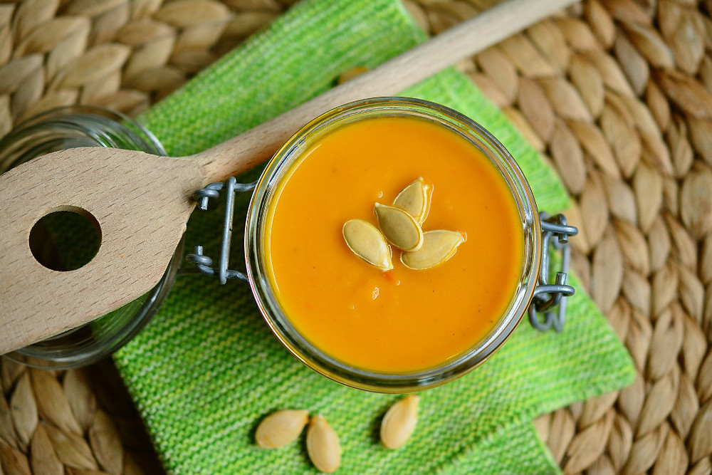 Vegetarian Pumkin Soup