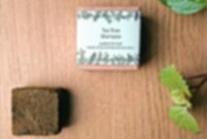 tea tree solid shampoo handmade in ireland