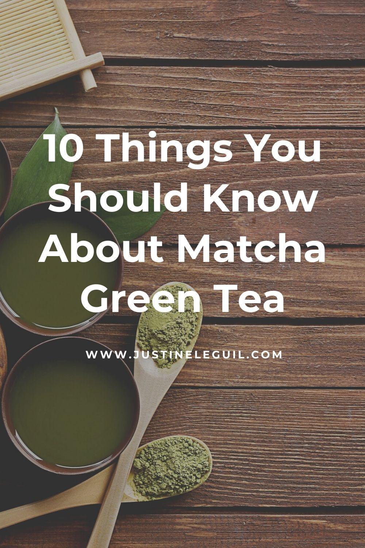 organic matcha green tea plant