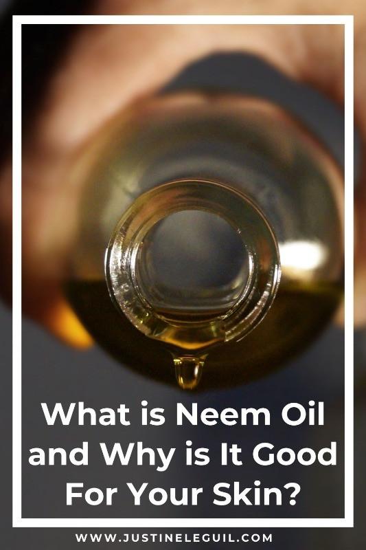 Neem oil for your skin blog Pinterest