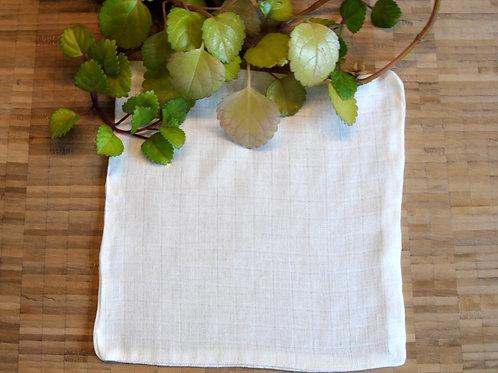 zero-waste cotton scrub washcloth