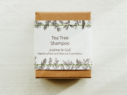 Natural Tea Tree Shampoo made in Ireland with Natural and Organic ingredients
