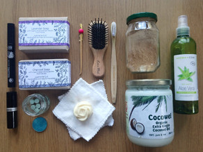My Beauty Travel Kit | Natural & Almost Zero-Waste