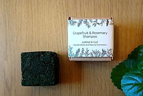 Grapefruit Rosemary Solid shampoo
