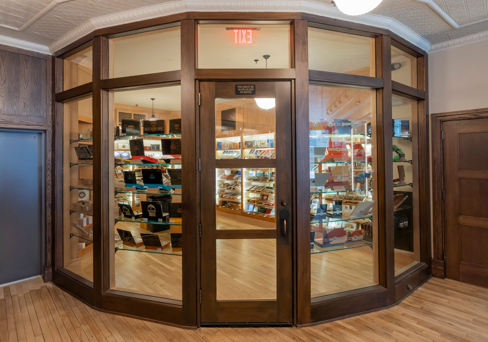 Chaloner's Walk-in Humidor
